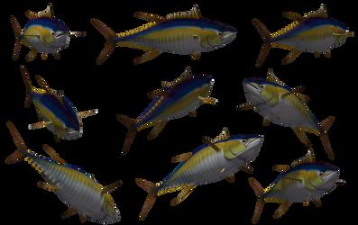 Fish - Tuna 01 by Free-Stock-By-Wayne