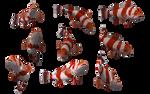 Fish Set 16 by Free-Stock-By-Wayne