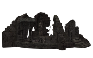 Building - Temple Ruins 01 by Free-Stock-By-Wayne