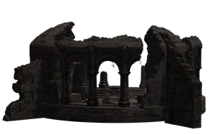 Building - Temple Ruins 05 by Free-Stock-By-Wayne