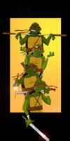 Teenage Mutant Ninja Turtles by uppitycracker