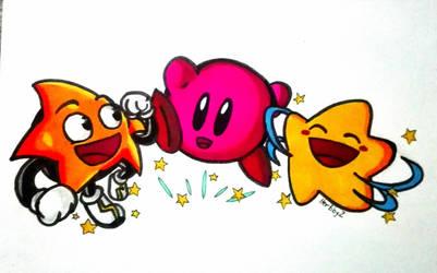 The three Star Warriors by HerbbyZ