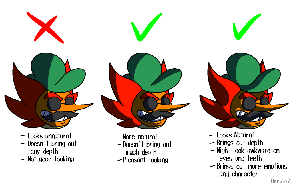 Shading comparison by HerbbyZ