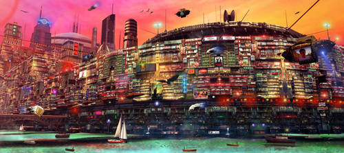 NEO HONG KONG 1 by scifilicious