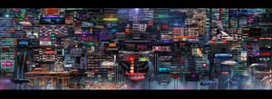 NEO HONG KONG 4 by scifilicious