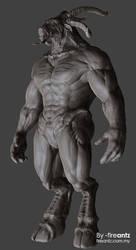 DWIV-3D sculpt 01b by fireantz83
