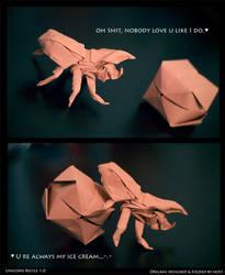 Unicorn Beetle by fireantz83