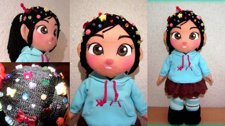 Vanellope doll by annie-88
