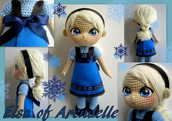 Elsa crochet toddler doll - Now with pattern! by annie-88
