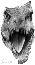 Rexy vs I-Rex by Mateus-Arts