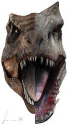 Rexy vs I-Rex color by Mateus-Arts