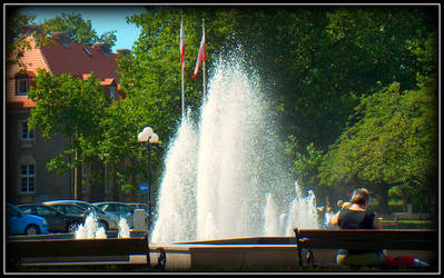 Fountain by soulindarkness