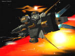 assault frigate render B by 4-X-S