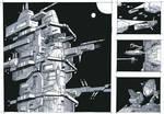Random spaceship doodle 2 by 4-X-S