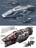 Heavy Cruiser wip 2 by 4-X-S