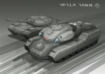 Tesla Tank A by 4-X-S