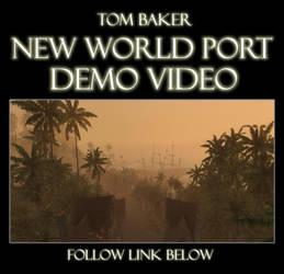 New world port Game environmen by Thomas-Baker