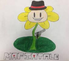 MafiaTale Flowey by EmpyricPrince