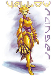 Yellow Ranger by concept-creature