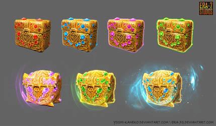 Treasure Chests - Concept Art by Yoshi-Kaneko