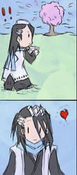 bya doodle by sickigirl23 by Byakuya-sweetly-Club