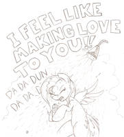 Singing in the Rain by Joey-Darkmeat