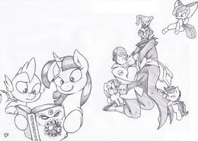 Dive into a good book by Joey-Darkmeat