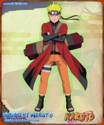 Uzumaki Naruto Sennin Mode by Davidyf