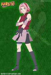 Sakura Haruno Shippuden by Davidyf