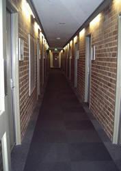 college hallways by lilgreekprincess