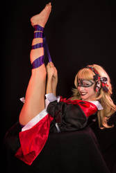 Boudoir Harley Quinn All Tied Up I by ToKyoFace5
