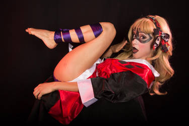 Boudoir Harley Quinn All Tied Up II by ToKyoFace5