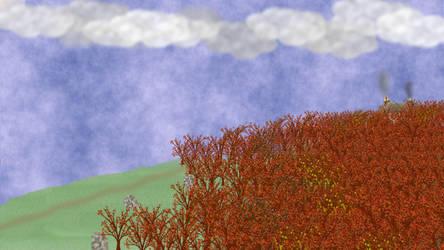 Autumn Cottage by Tet-Corporation