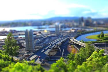 Tilt shift Oslo 2 by mariusjellum