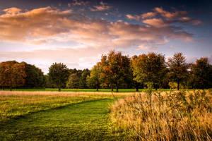 STOCK: Landscape, path, sky. by needanewname