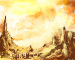 Burning Lands by Vexatiousss