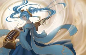 League of Legends Sona by SaintPrecious