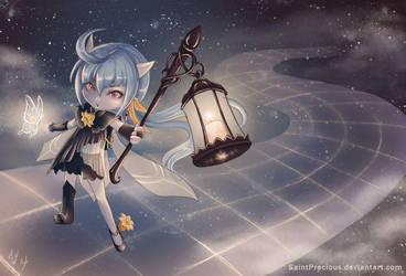 League of Legends Lulu Skin Idea by SaintPrecious