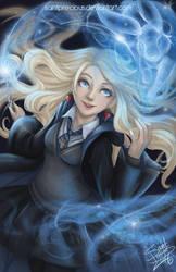 Harry Potter Luna Lovegood by SaintPrecious