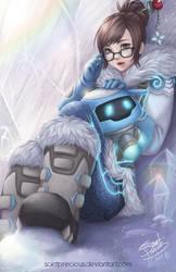 Overwatch Mei by SaintPrecious