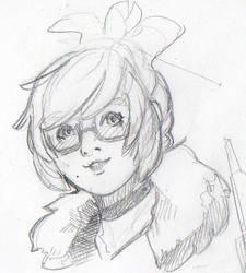 Mei sketch by chamucaselamor69