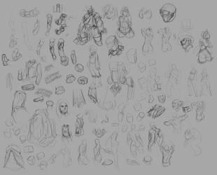 Studies 011 by chamucaselamor69