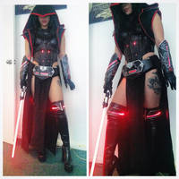 Sith Assassin Mashup Cosplay (Preview) by raquelsparrowcosplay