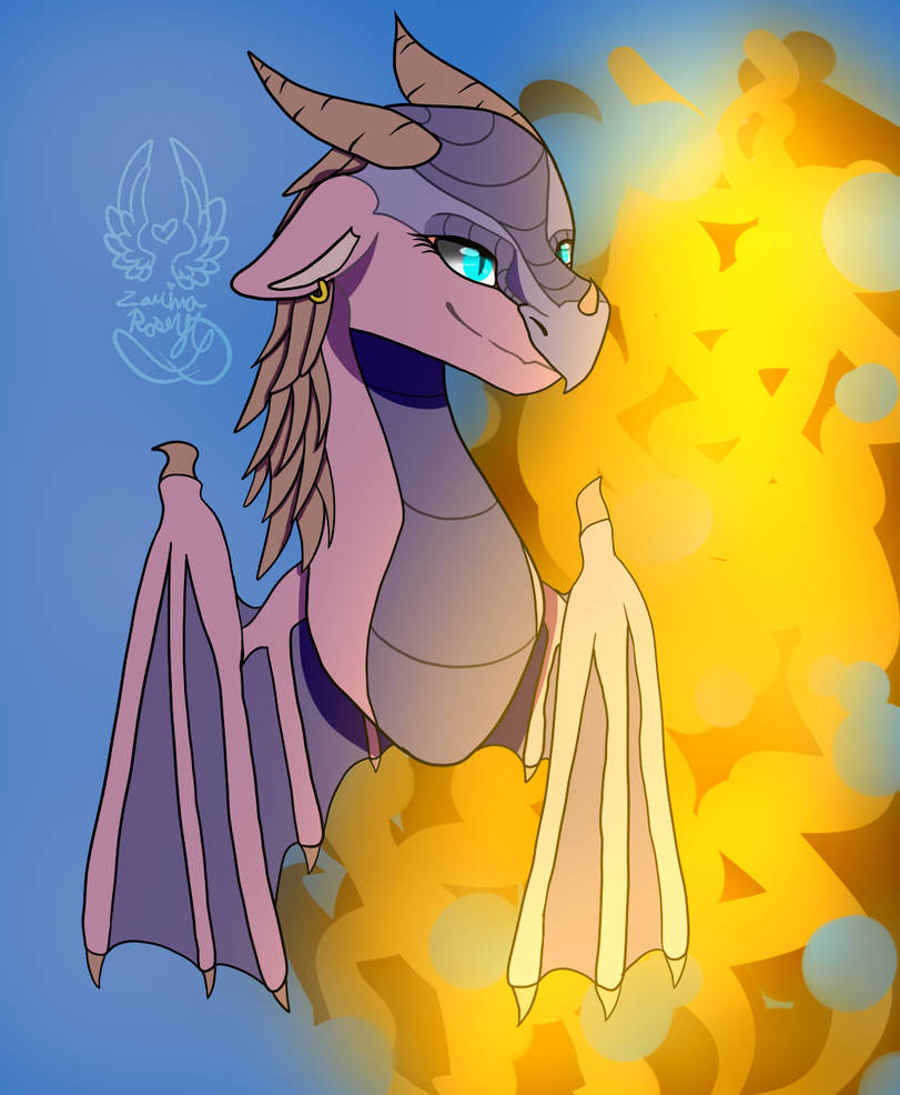 Idk I just wanted to draw a dragon by ZarinaRoseYT