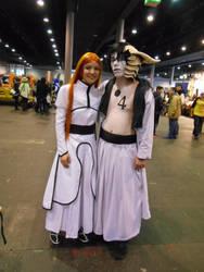 EpicCon Frankfurt 2016 cosplay: Orihime, Ulquiorra by Lalottered