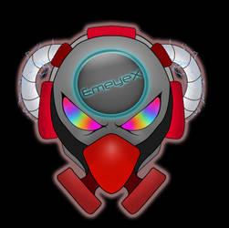 EmeyeX Cyber Punk Logo by EmeyeX
