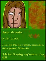 Alex's Second ID by blackbeardpirate