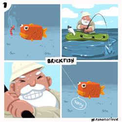 BrickFish1 by RomanOrLove