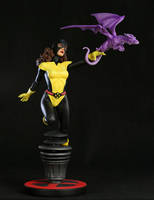 Kitty Pryde painted by rvbhal
