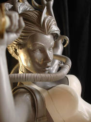 Pearl   pinup  sculpture 4 by rvbhal
